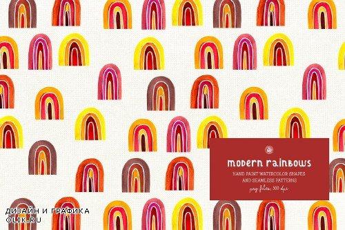 Modern Rainbows Patterns - 3983850