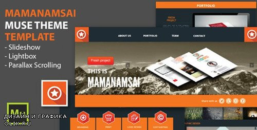 ThemeForest - Mamanamsai v1.0 - Muse Theme - 6440520