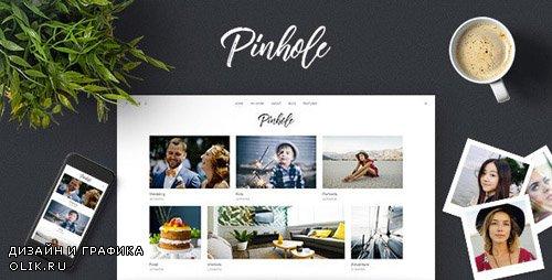 ThemeForest - Pinhole v1.5.2 - WordPress Gallery Theme for Photographers - 20407424