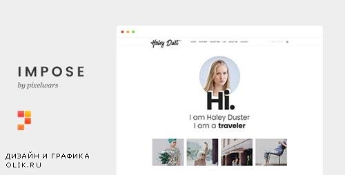 ThemeForest - Impose v1.0 - Template For Bloggers - 19525430