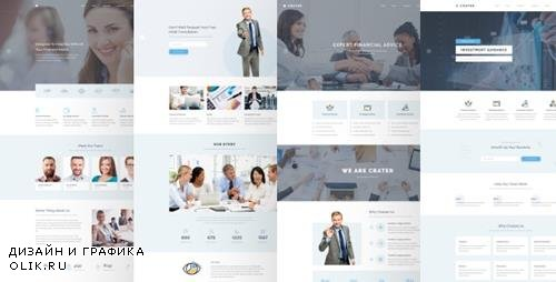 ThemeForest - Crater v1.0 - Business & Financial PSD Template - 24119783