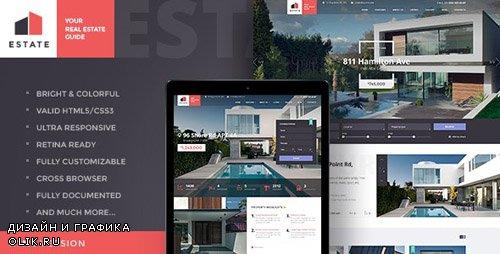ThemeForest - Estate v1.2 - Property Sales & Rental Site Template - 18442626
