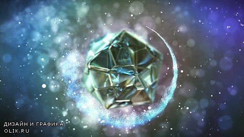 Polyhedron Glass Logo - Project for AFEFS (Videohive)