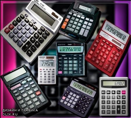 Растровые клипарты - Электронные калькуляторы