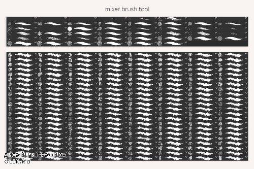 Cartoon Brushes - 3801137