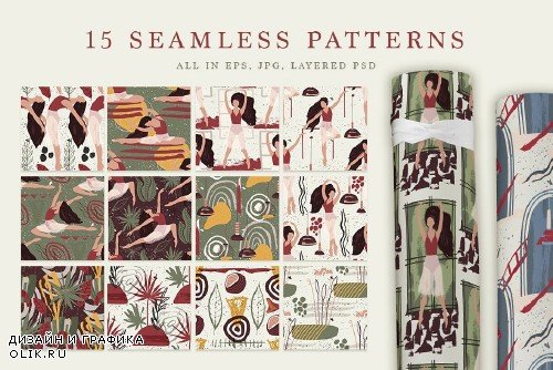 Ballet. Abstract Graphic Bundle - 3988994
