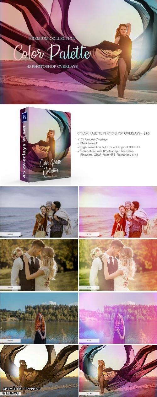 Color Palette PHSP Overlays - 3889321