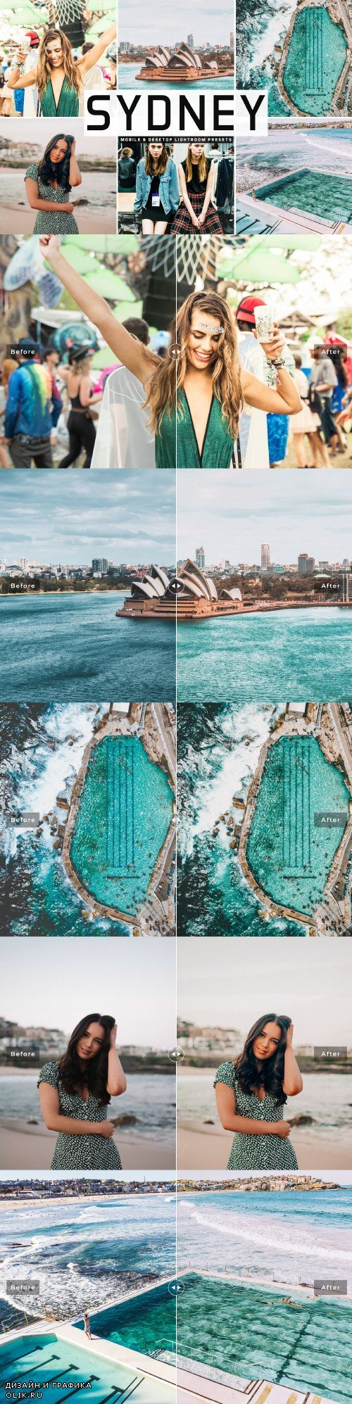 Sydney Lightroom Presets Pack - 3993500