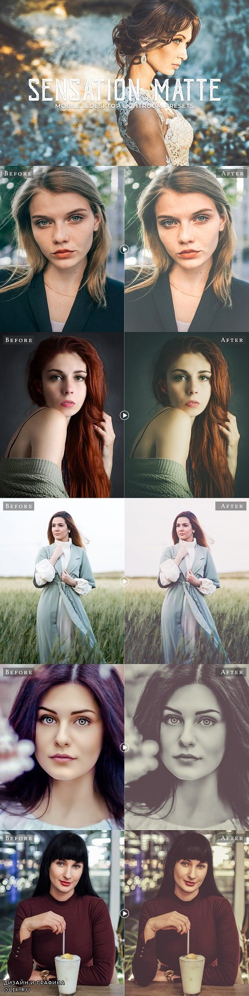 Sensation Matte Lightroom Presets - 3403415