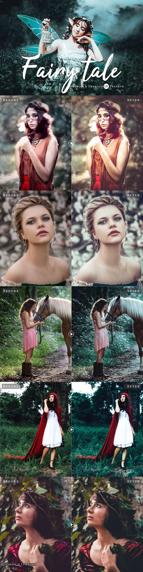 Fairytale Pro Lightroom Presets - 3373600