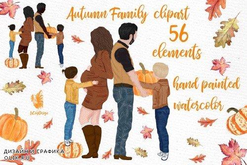 Family clipart, Pregnant women image - 4008470