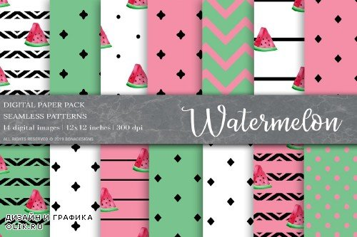 Watermelon Digital Papers - 4003925