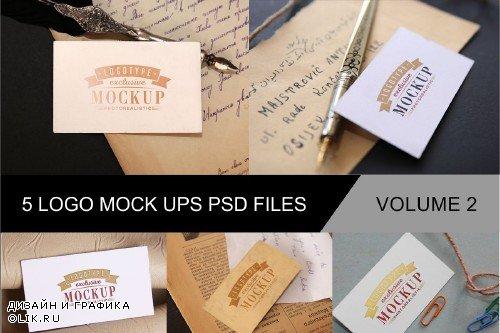Photo Realistic Mock-ups Set of 5 V2 - 4011586