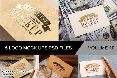 Photo Realistic Mock-ups Set of 5 V10 - 4014724