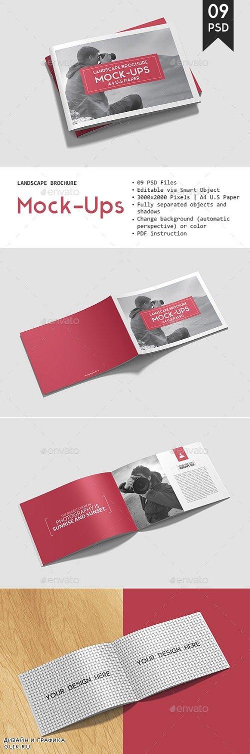 Landscape Brochure Mockup - 20673655 - 1855068