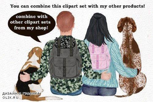 Dog Clipart, Dog breeds, Pet clipart - 4011293
