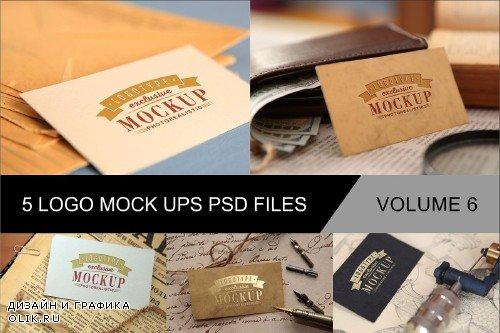 Photo Realistic Mock-ups Set of 5 V6 - 4011647