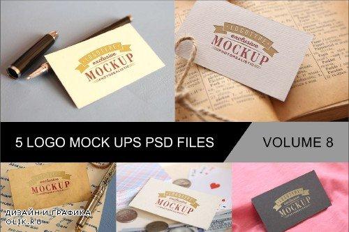 Photo Realistic Mock-ups Set of 5 V8 - 4013322