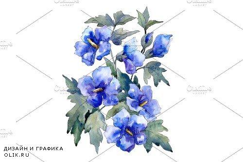 Bouquet of flowers blue Nona - 4028235