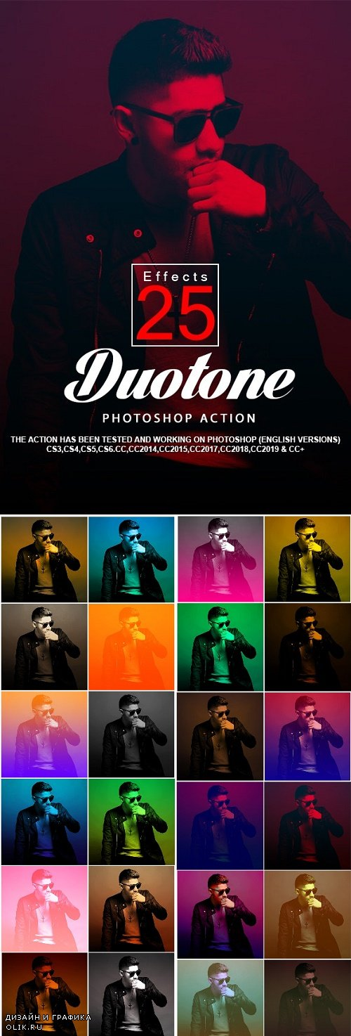 25 Duotone PHSP Actions 24292183