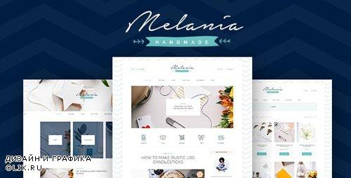 ThemeForest - Melania v1.5.2 - Handmade Blog & Shop WordPress Theme - 12515663