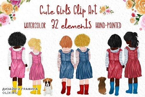Cute little girls, Little besties - 4033037
