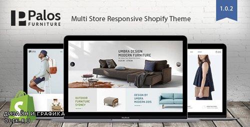 ThemeForest - Palos v1.0.2 - Multi Store Responsive Shopify Theme - 20689160