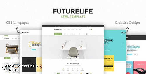 ThemeForest - Futurelife v1.0.0 - eCommerce HTML Template (Update: 26 November 18) - 16867248
