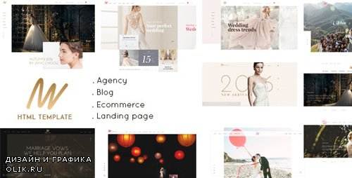 ThemeForest - The VOW v1.0 - Wedding Responsive HTML Template - 21712748