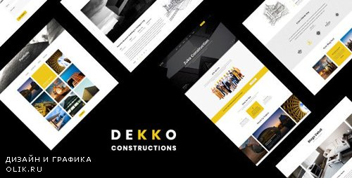 ThemeForest - Dekko v1.0 - Construction HTML5 Template - 24173754