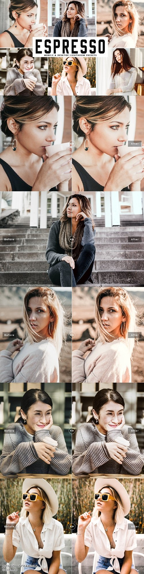 Espresso Lightroom Presets Pack  - 4040642