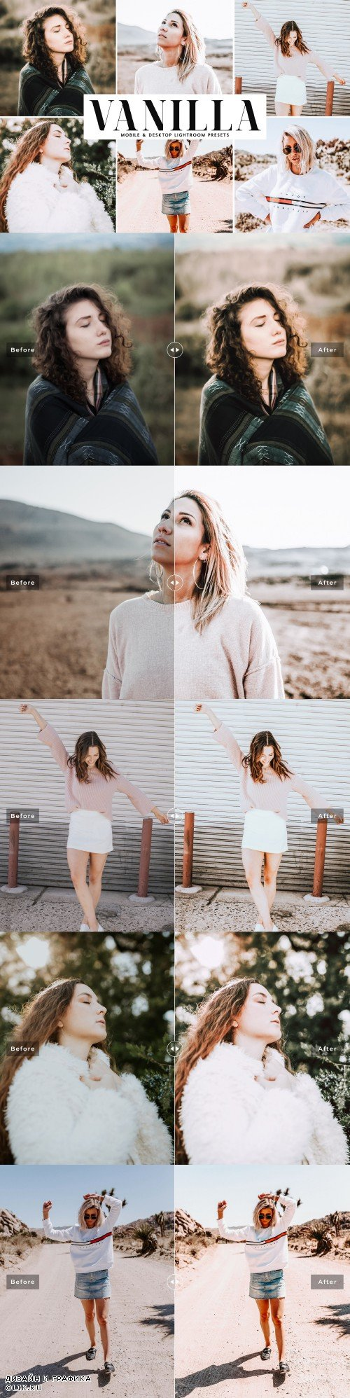 Vanilla Lightroom Presets Pack - 4040521