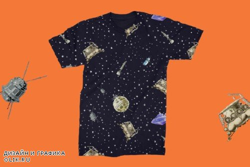 Gagarin - Patterns & Illustrations - 4036982