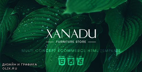 ThemeForest - Xanadu v1.0.0 - Multi Concept eCommerce HTML Template - 19426574