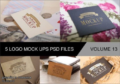 Photo Realistic Mock-ups Set of 5 V13 - 4043748 - 4042400