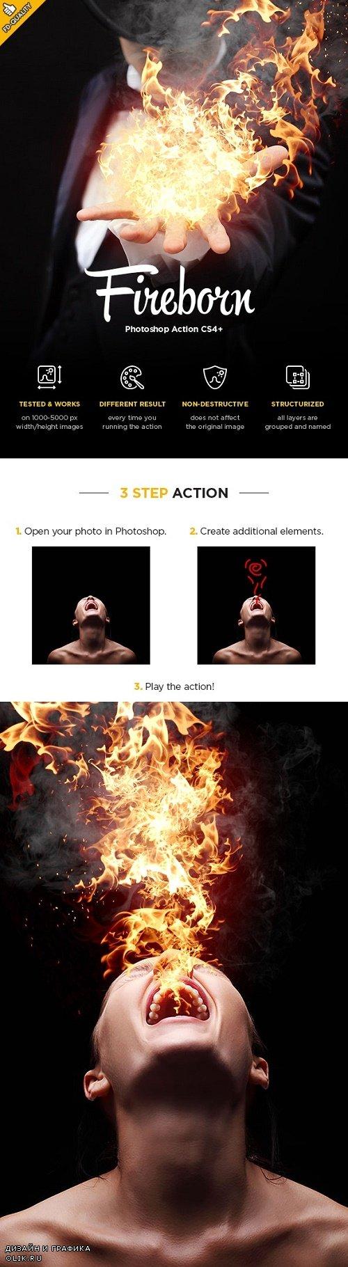 Fireborn CS4+ PHSP Action 24273075