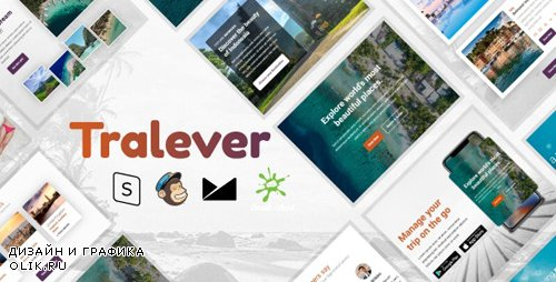 ThemeForest - Tralever v1.0 - Responsive Email Template with MailChimp Editor, StampReady & Online Builder - 24325471