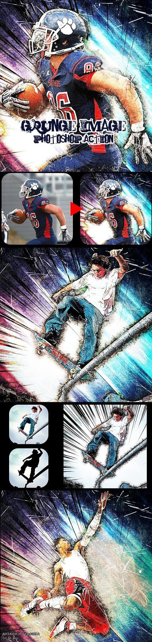Grunge Image PHSP Action 24280720