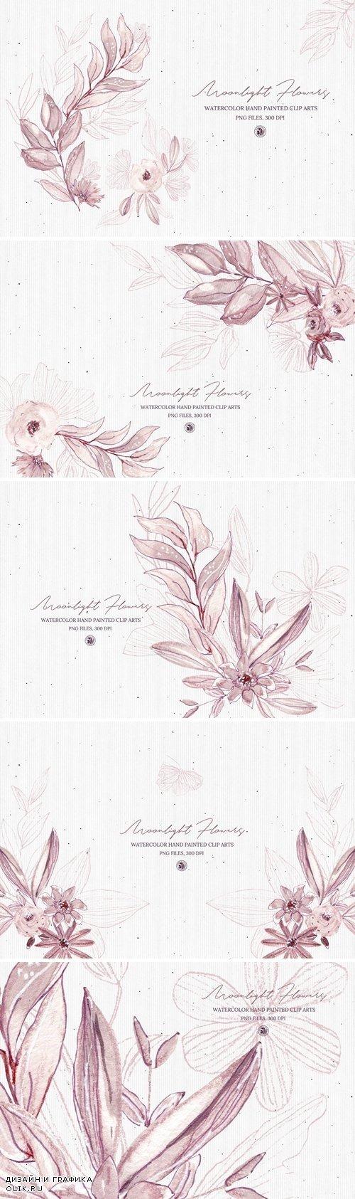 Moonlight Flowers - 4054330