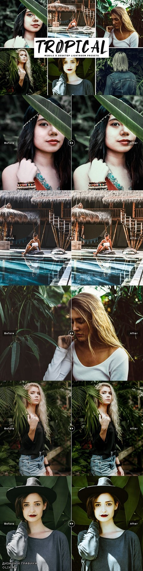 Tropical Pro Lightroom Presets - 4055997
