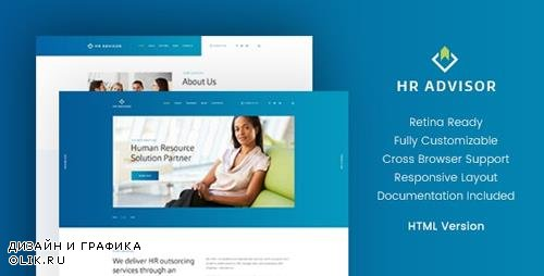 ThemeForest - HR Advisor v1.1 - Business Consulting HTML Template - 20316660