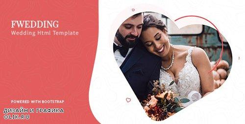 ThemeForest - Foxewedding v1.0 - Beautiful Wedding Template (Update: 12 August 19) - 23856965