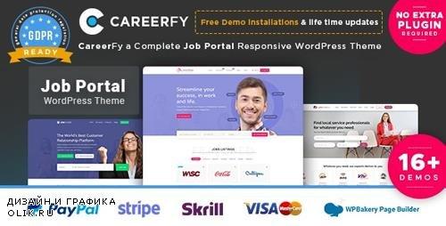 ThemeForest - Careerfy v2.5.3 - Job Board WordPress Theme - 21137053