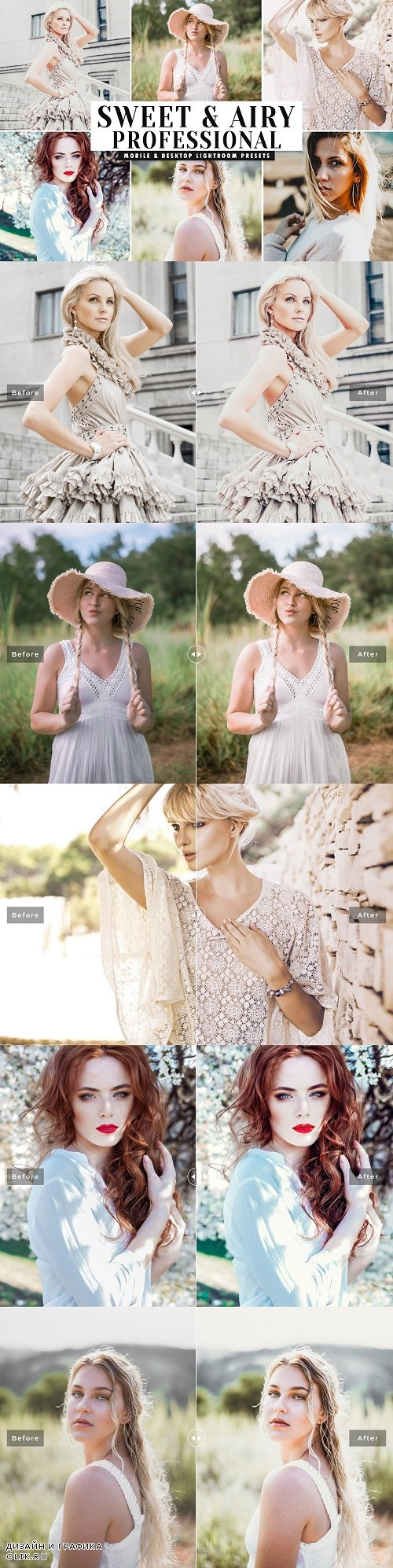 Sweet & Airy Pro Lightroom Presets 4066575