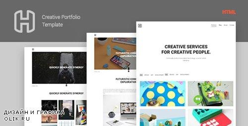 ThemeForest - Honor v1.0 - Creative Portfolio Showcase Template - 21635561