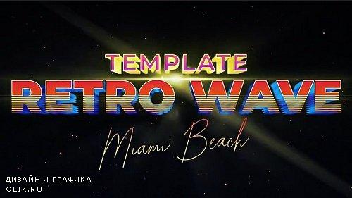 Retro Wave Intro 6 275892 - Motion Graphics Templates