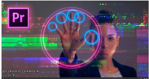 Cyberpunk Glitch Transition v2 287395 - Premiere Pro Templates