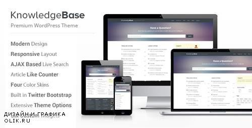 ThemeForest - Knowledge Base v1.5.4 - A WordPress Wiki Theme - 4146138