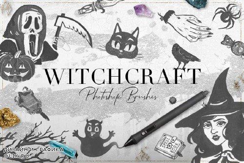75 Witchcraft Photoshop Brushes - 3070432