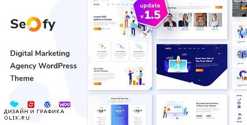 ThemeForest - Seofy v1.5.2 - SEO & Digital Marketing Agency WordPress Theme - 22961528 - NULLED